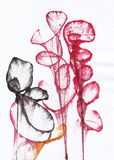Art Flower Abstract royalty-vrije illustratie