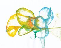 Art Flower Abstract Illustrazione di Stock