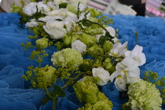 The art of flower arranging. VDNH Stock Photography