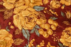 Art flower cloth background Royalty Free Stock Photography