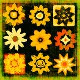 art flower grunge pop power διανυσματική απεικόνιση