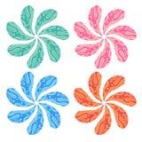 Art Flower vector Royalty Free Stock Photo