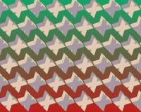 art flying gradient green pattern pop red xs Στοκ φωτογραφία με δικαίωμα ελεύθερης χρήσης