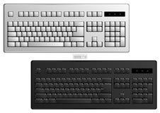 Art fondamental de vecteur de clavier d'ordinateur Photos stock