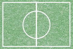 Art football field background Royalty Free Stock Photo