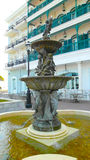 Art fountain. In Macau hotel Royalty Free Stock Images