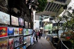 Art  fpr sale. The Peak Hong Kong. Royalty Free Stock Photos