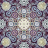 Art fractal mandala background Royalty Free Stock Photo
