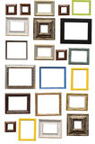 Art frame. Isolated on white background royalty free stock photos