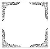 Art frame with empty space Stock Images