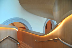 Art Galler of Ontario Gehry Staircase 9 Stock Images