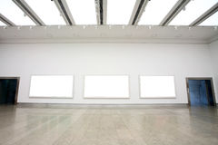 Art gallery Royalty Free Stock Photography