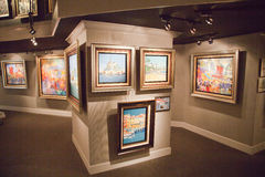 Art Gallery Photo stock