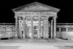 Art Gallery av New South Wales, Sydney, Australien arkivbilder