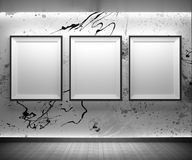 Art gallery royalty free illustration