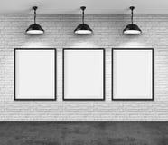 Art gallery stock illustration