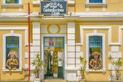 Art Gallery Facade Natal Brazil Stockfotos