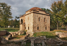 Art Gallery (Former Bali-Bey Mosque) in Nis fortress. Serbia Stock Photography