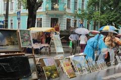 Art Gallery im Freien Stockfotos