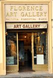 Art gallery in Italy Stock Photography