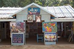 Art gallery at Mingun Myanmar Stock Images