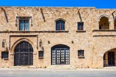 Art Gallery municipal de Rhodes images stock