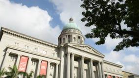 Art Gallery nacional con los cielos azules almacen de metraje de vídeo