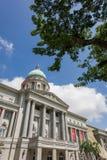 Art Gallery nazionale con cielo blu Fotografia Stock Libera da Diritti
