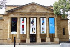The Art Gallery of South Australia, Adelaide Stock Photo