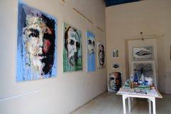 Art Gallery Workshop Lizenzfreie Stockbilder