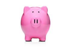 Art-Geldkasten der Piggy Querneigung Stockfotografie