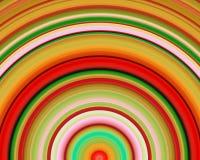 art generative green hues red sundawn yellow ελεύθερη απεικόνιση δικαιώματος