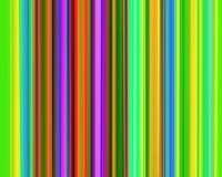 art genetic green neon purple red stripes vertical απεικόνιση αποθεμάτων
