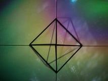 Art of geometry stock photo