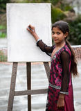 Art girl Stock Image