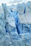 Glacier Part. Art of a glacier in Patagonia, South America Royalty Free Stock Photo