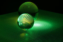 Art glass ball Royalty Free Stock Images