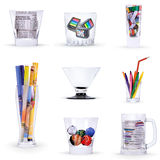 Art glasses Stock Photo