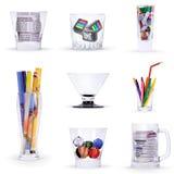 Art glasses Stock Photo