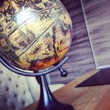 Art globe. Picture of an artistic globe Stock Image