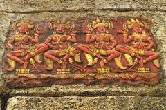 Art of goddess at ngai island Stock Image