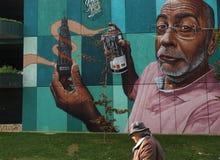 Art grafitti on Porto,Portugal. Royalty Free Stock Photography