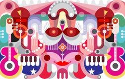 Art Graphic Design abstracto Imágenes de archivo libres de regalías