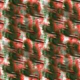Art Green, rojo, gota azul de la pintura de la tinta de la acuarela Foto de archivo libre de regalías