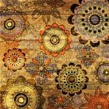 Art grunge background. Art grunge floral aged background royalty free illustration