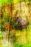 Art grunge background in green and yellow colors Stock Image