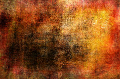 Art grunge background in red, orange, yellow and brown colors Stock Image