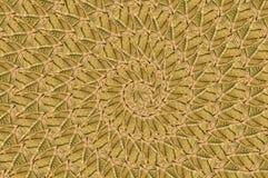 Art grunge brown spiral pattern background Stock Photo