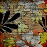 Art grunge floral background. Art grunge floral vintage background Stock Photo