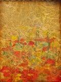 Art grunge floral background Royalty Free Stock Image